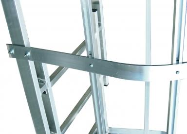 13. gabbia con piattine rivettate o imbullonate