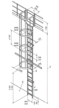 11. Il dimensionamento delle scale con gabbia su base 14122-4