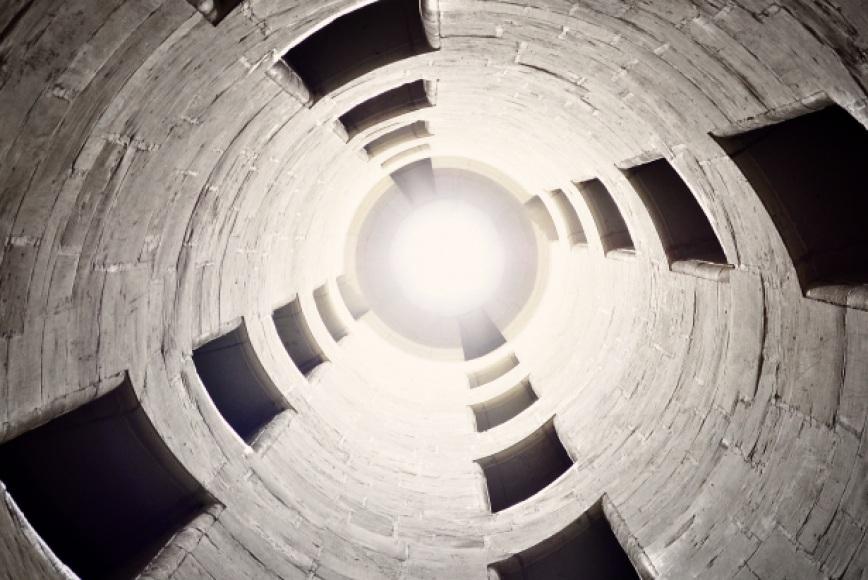 Neil McManus ambienti cofinati - un silo in cemento