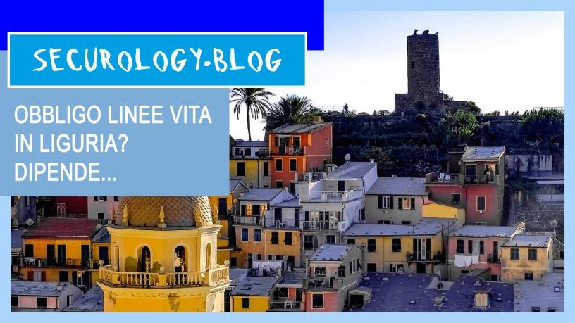 Obbligo Linea Vita Liguria
