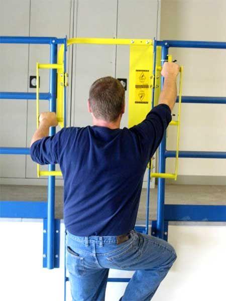 cancelletto-scale - chiusura dall'alto scala a pioli
